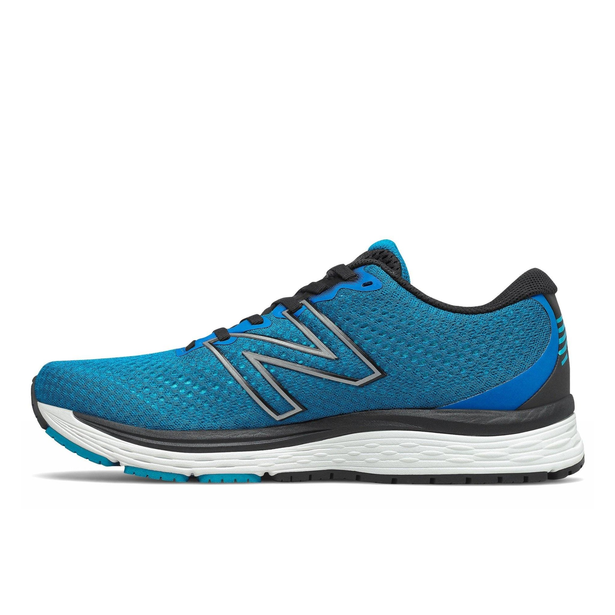 New Balance Men's Solvi v3 Running Shoe - Wave Blue/Light Rogue Wave SP-Footwear-Mens New Balance