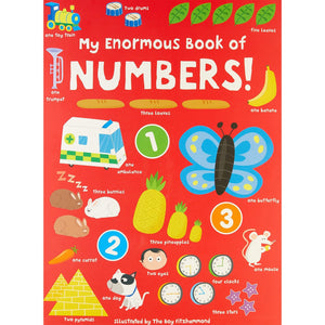 My Enormous Book of Numbers Books Hinkler Books