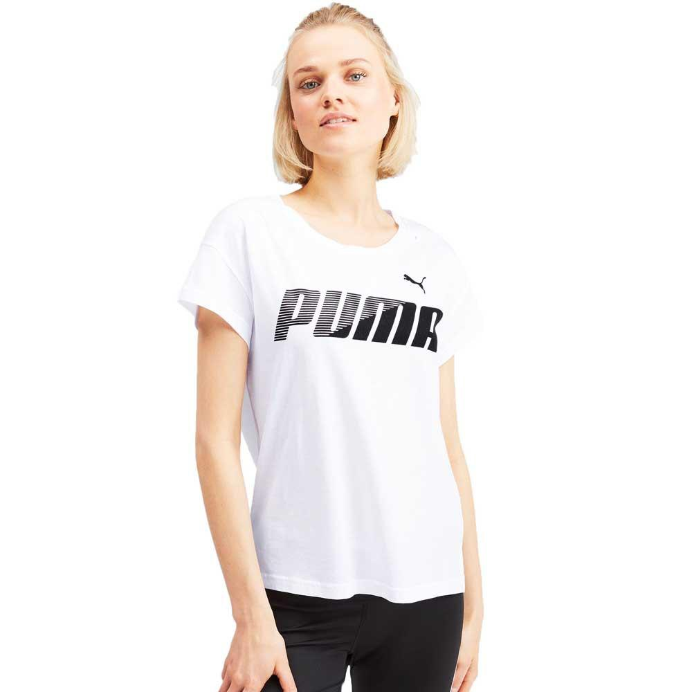Puma MODERN SPORT Graphic Tee - Puma White SP-ApparelTees-Womens Puma