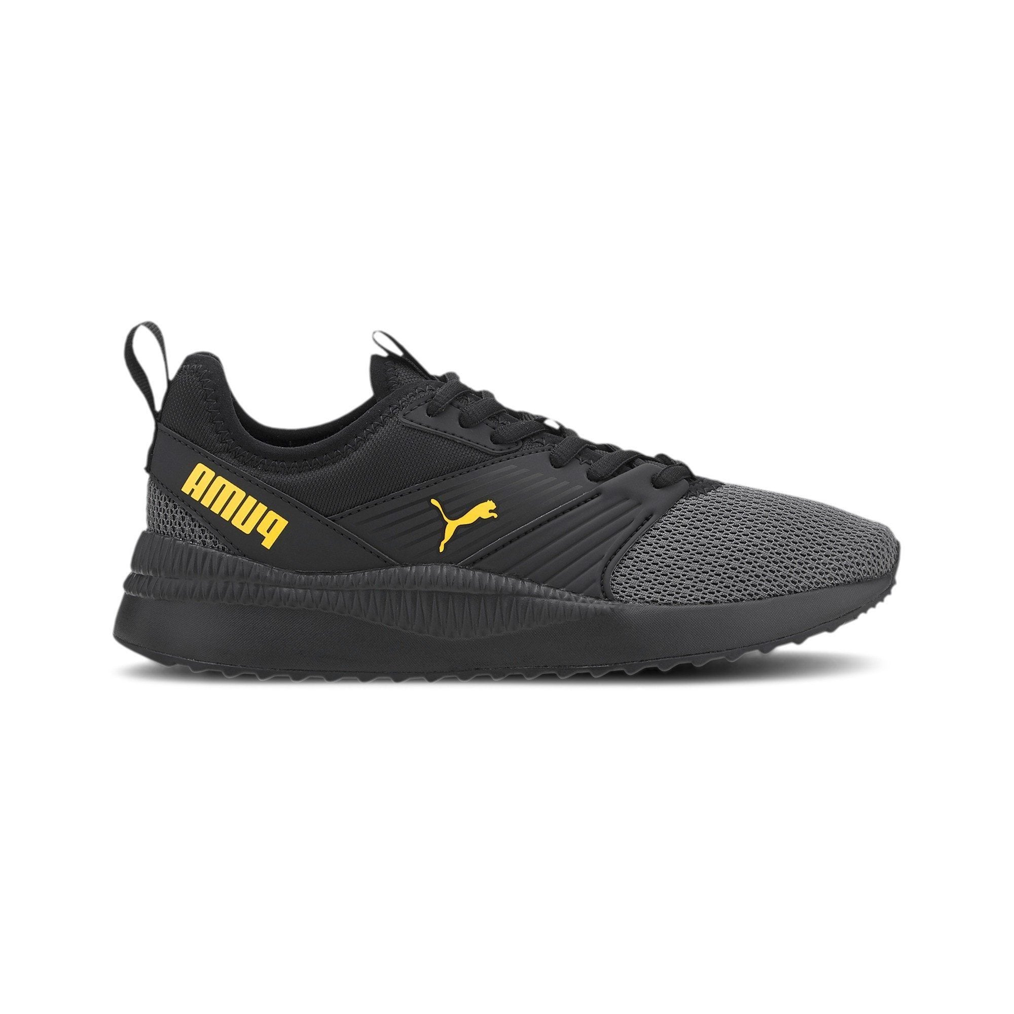 Puma Kids Pacer Next FFWD Jr - Puma Black/Dandelion SP-Footwear-Kids Puma