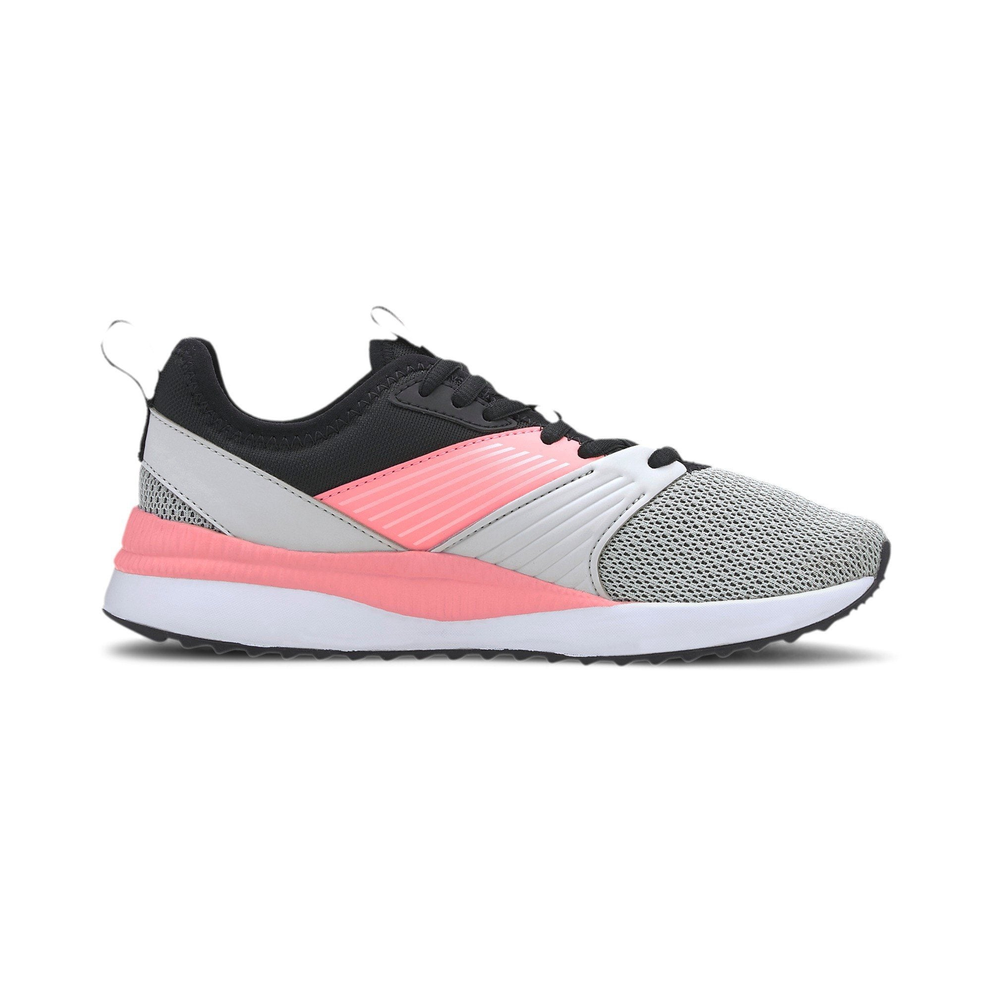 Puma Kids Pacer Next FFWD Jr - Puma Black/Salmon Rose SP-Footwear-Kids Puma