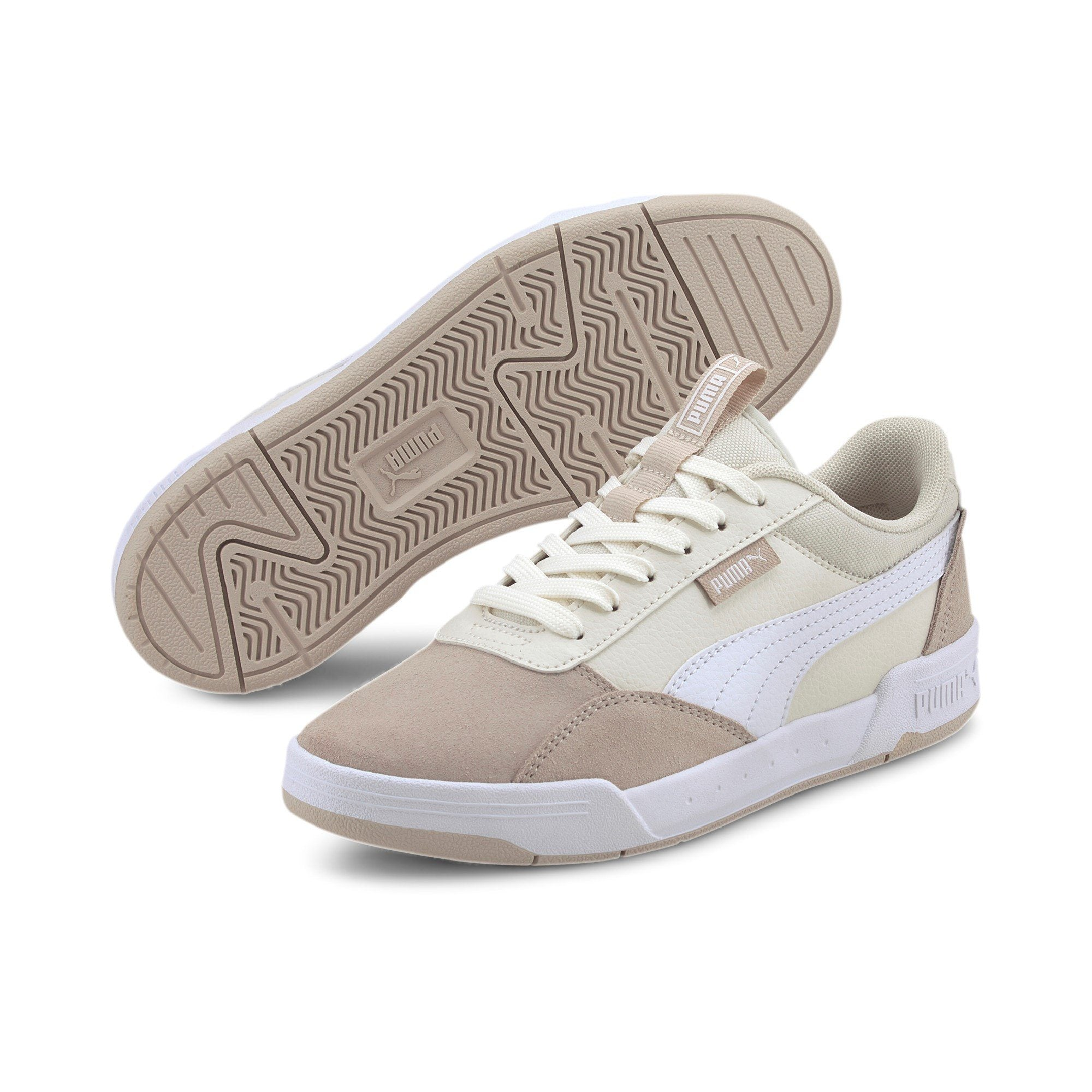 Puma Kids C-Skate Jr Vaporous - Grey/Puma White SP-Footwear-Kids Puma