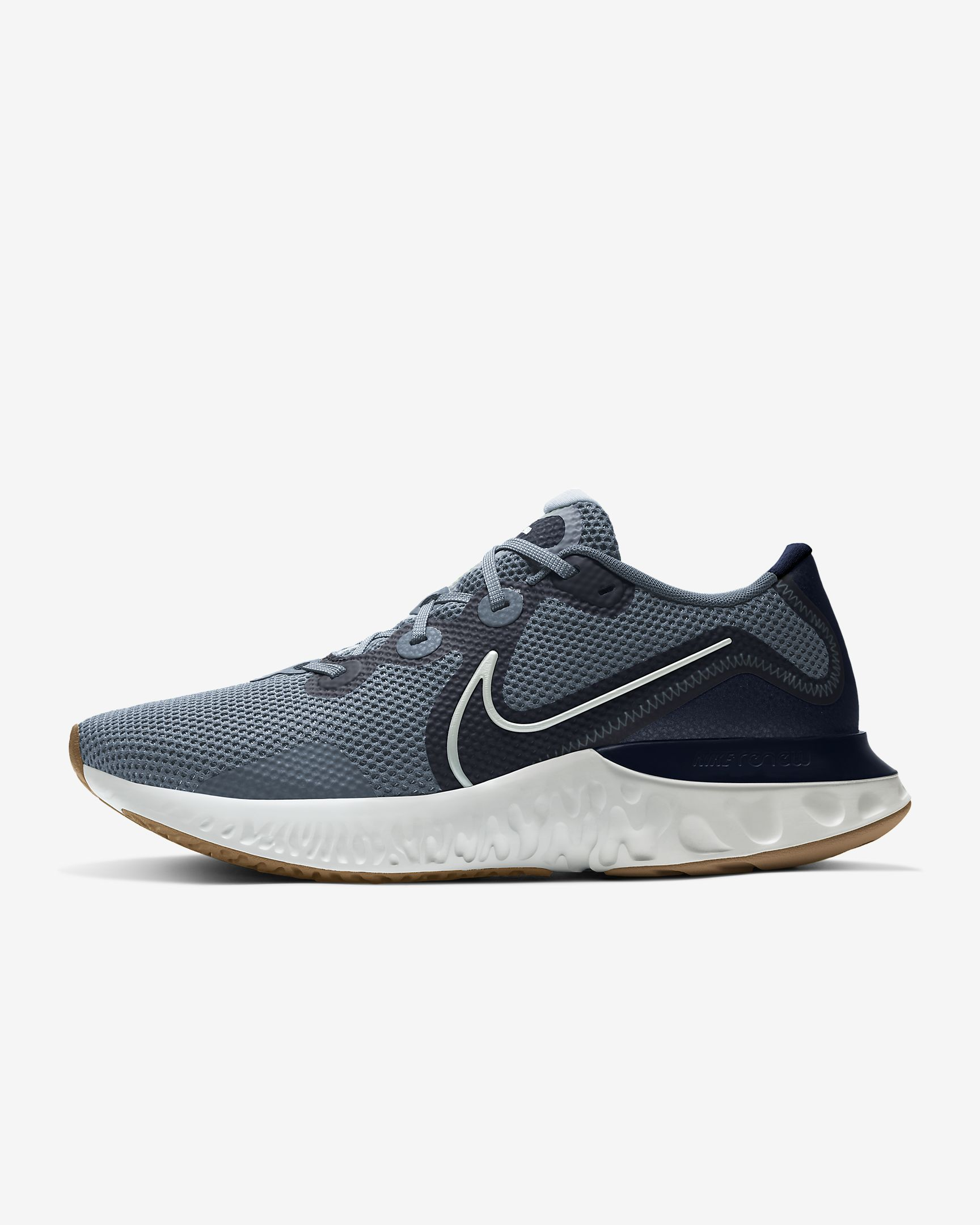 Nike Renew Run - Ozone Blue/Photon Dust-Obsidian SP-Footwear-Mens Nike