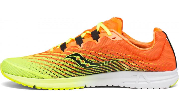Saucony Mens Type A9 - Citron/Orange SP-Footwear-Mens Saucony