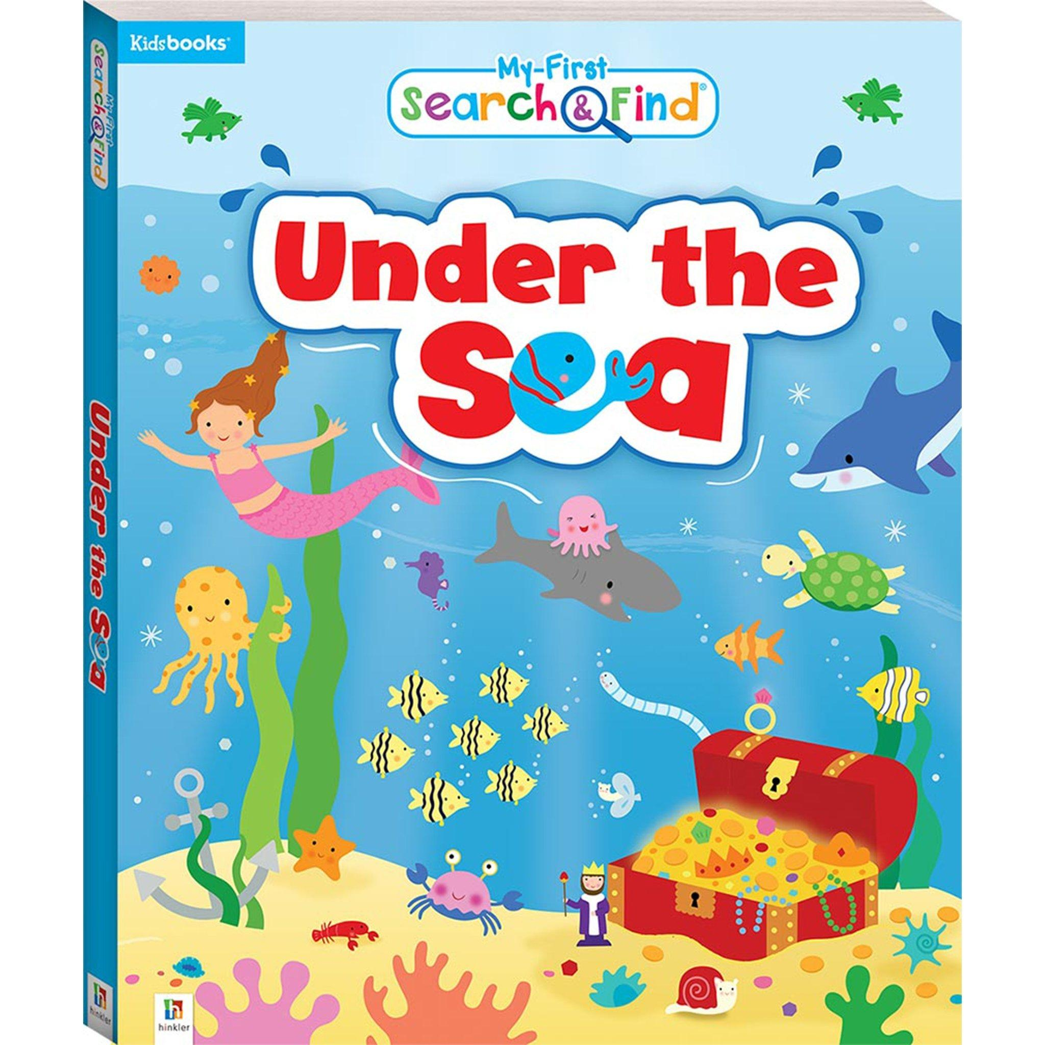 My First Search and Find: Under the Sea Books Hinkler Books