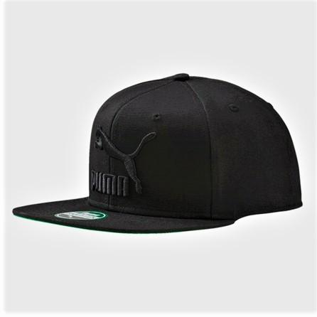 Puma LS ColourBlock Cap - Black SP-Headwear-Caps Puma