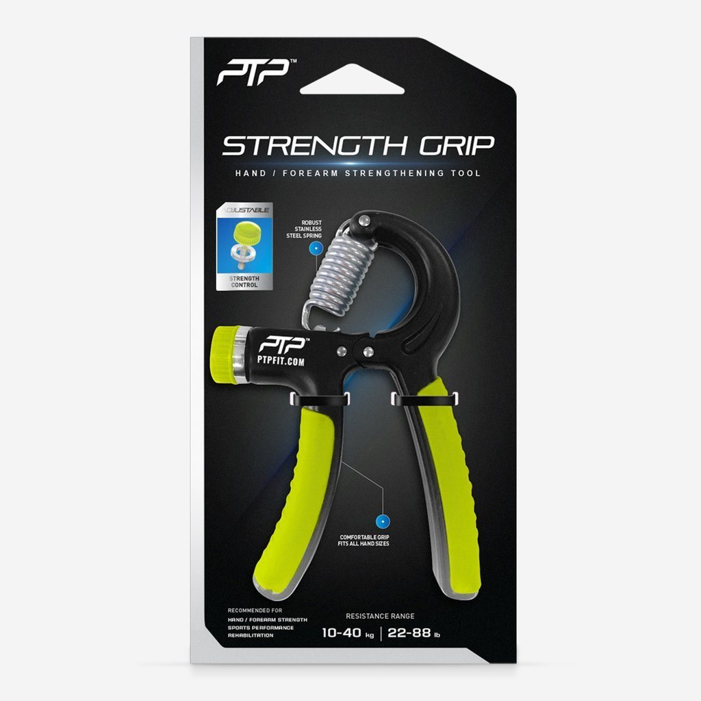 PTP Strength Grip - Hand and Finger Strengthener SP-EquipmentRecovery PTP