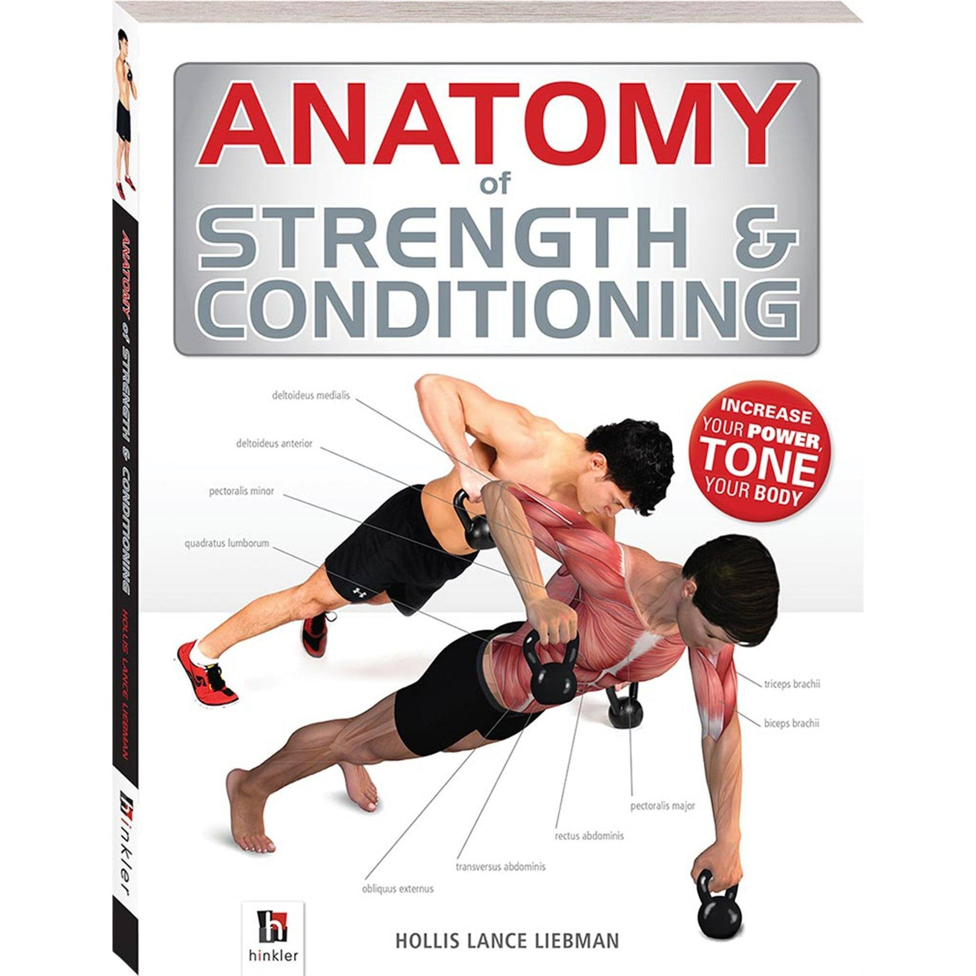 Anatomy of Strength and Conditioning Book Books Hinkler Books