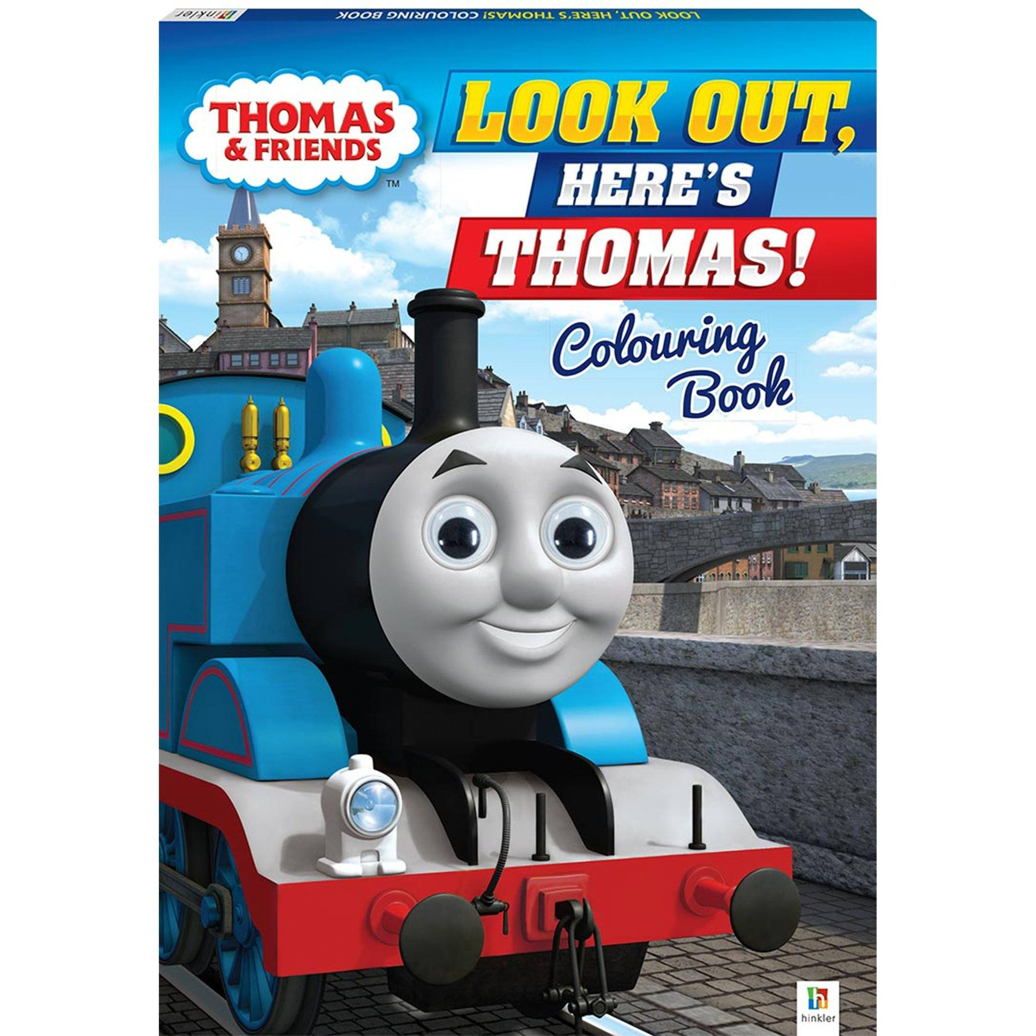 Thomas and Friends: Look out! Here's Thomas! Jiggly Eyes Books Hinkler Books