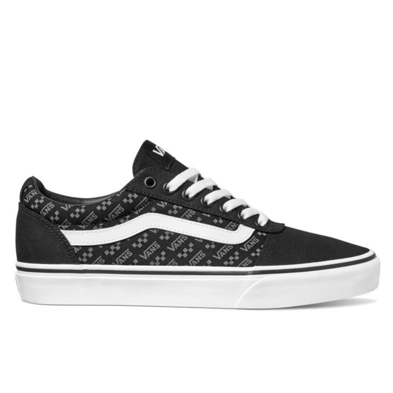 Vans Ward (Logo Repeat) - Black/White SP-Footwear-Mens Vans
