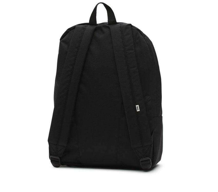 Vans Realm Backpack - Black SP-Accessories-Bags Vans
