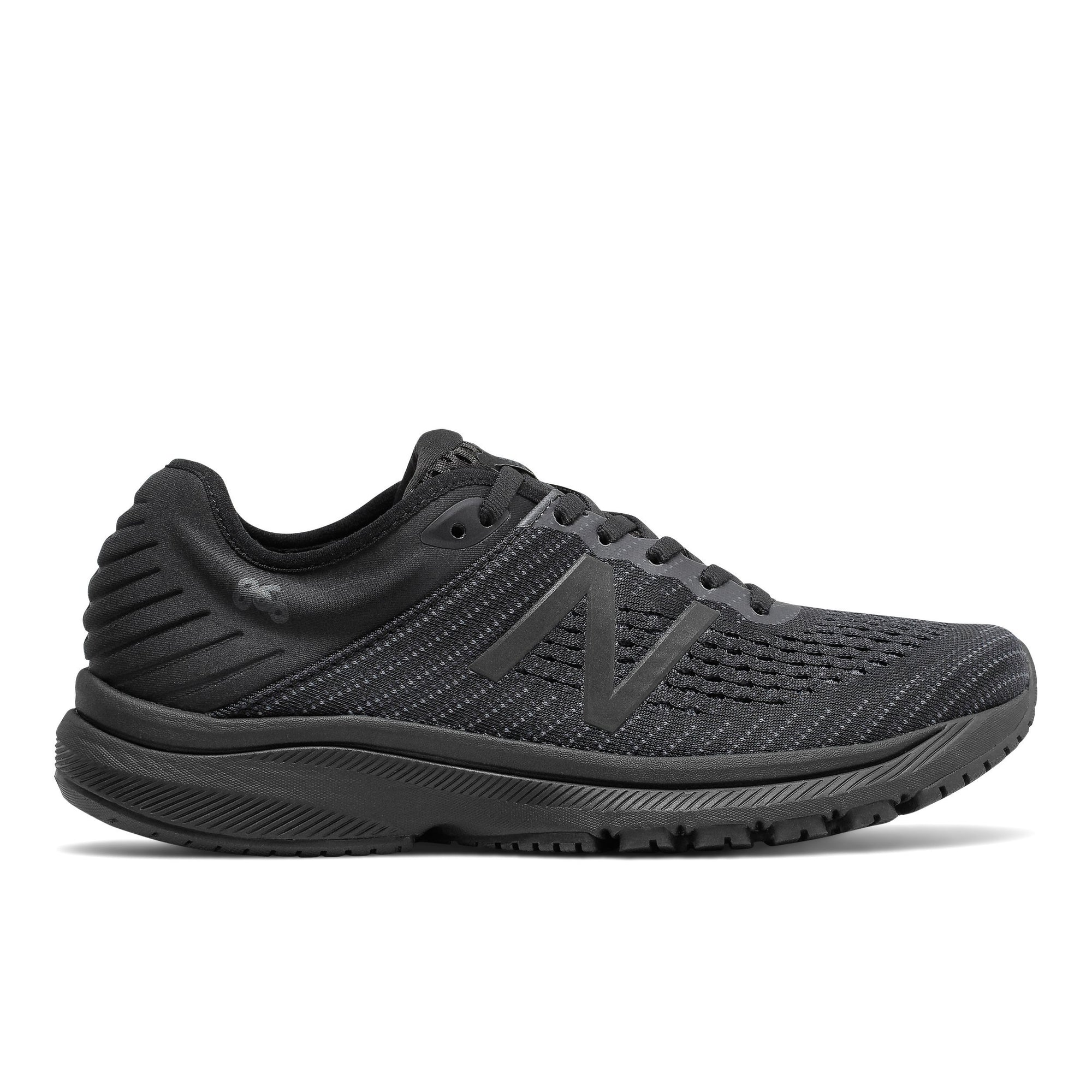 New Balance Womens 860v10 - Triple Black SP-Footwear-Womens New Balance