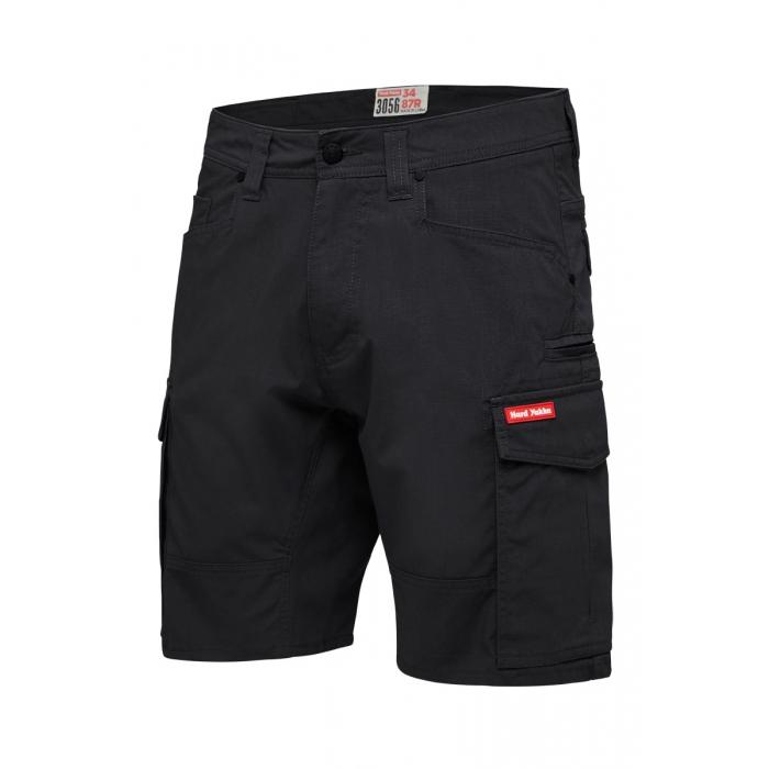 Hard Yakka 3056 Ripstop Short - Black Workwear Hard Yakka