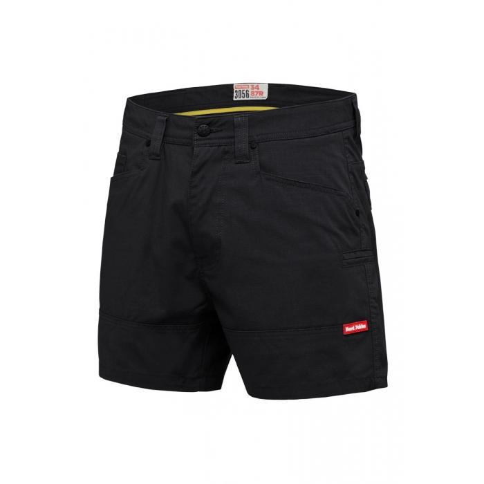 Hard Yakka 3056 Ripstop S/Short - Black Workwear Hard Yakka