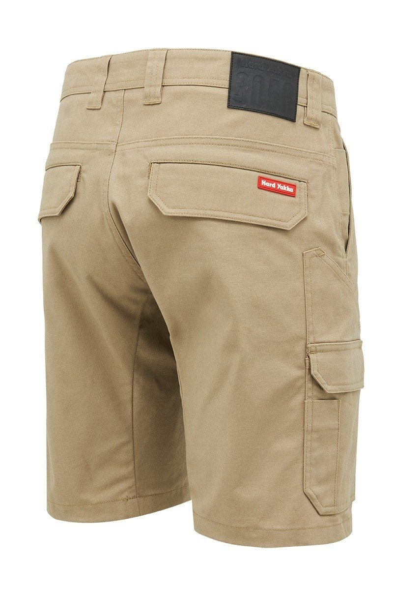 Hard Yakka Core Stretch Short - Khaki Workwear Hard Yakka