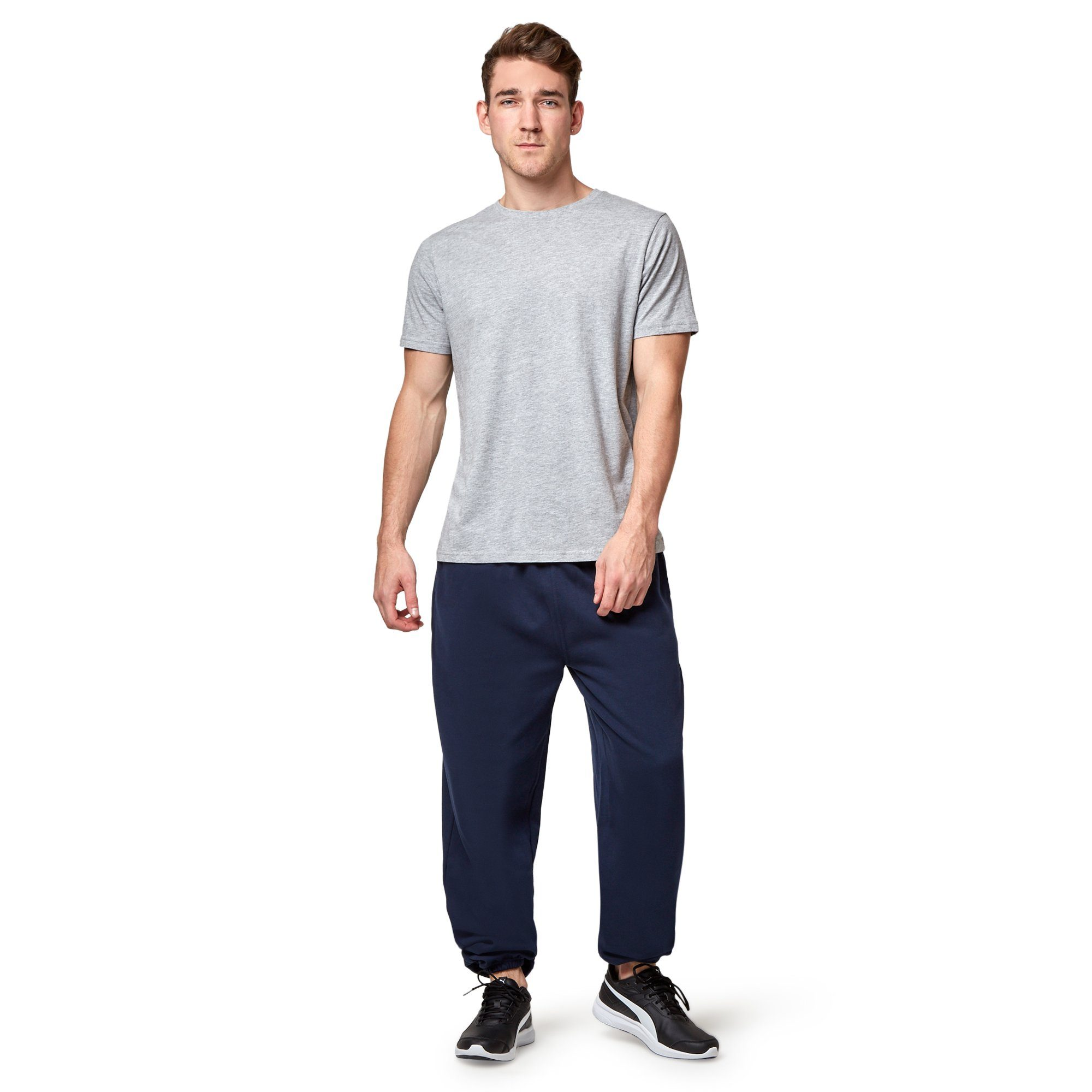 Hard Yakka Fleecy Track Pant - Navy Workwear Hard Yakka
