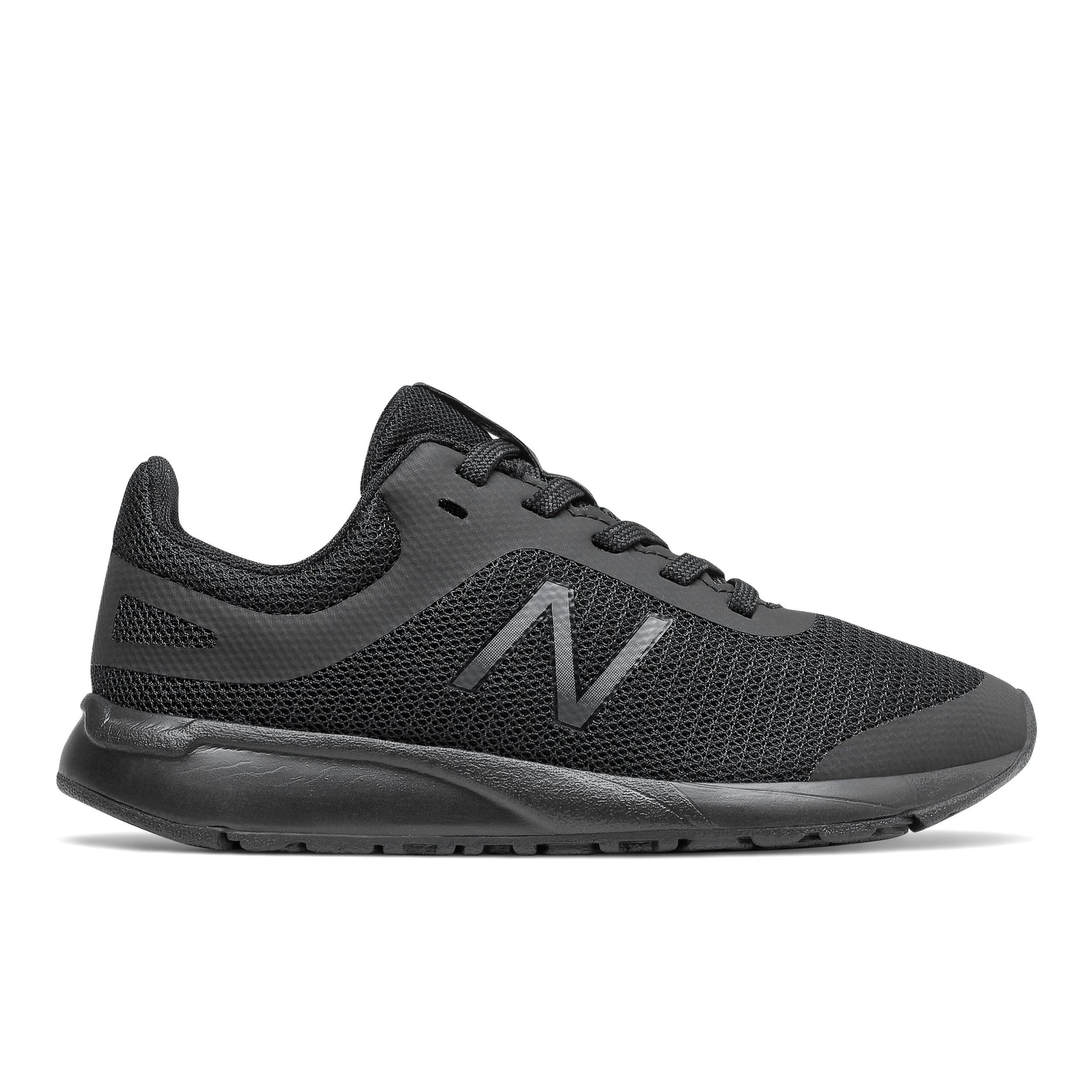 New Balance Kids 455v2 (lace up) - Triple Black SP-Footwear-Kids New Balance