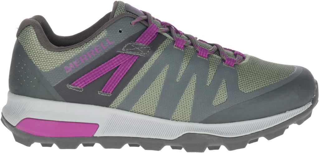 Merrell Women's Zion FST Waterproof - Olive/Mulberry SP-Footwear-Womens Merrell