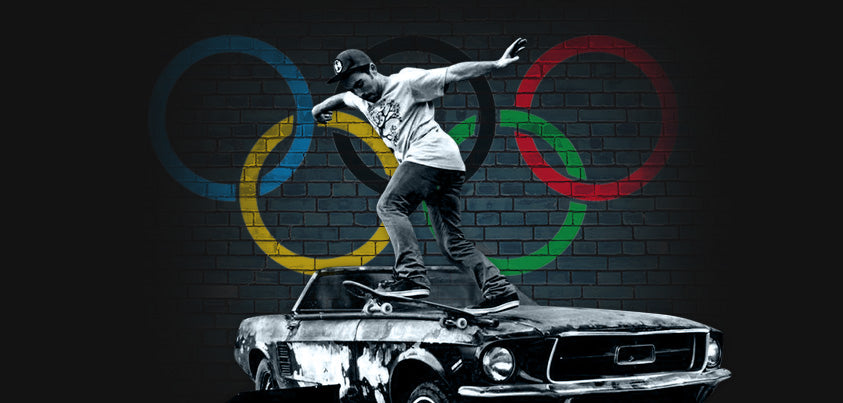 SKATEBOARDING IS OFFICIALLY GOING TO BE IN THE OLYMPICS