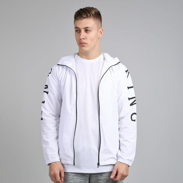 KING AESTHETIC SHELL JACKET - WHITE