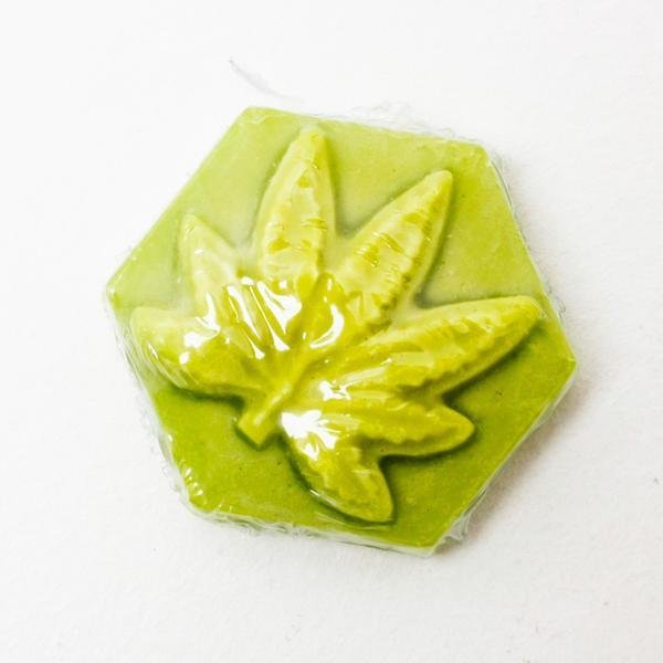 GANJ LARGE SKATEBOARD WAX - LUMINOUS