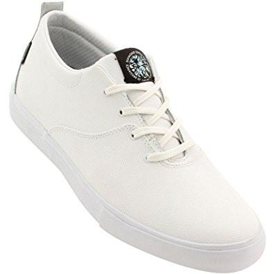 DIAMOND SUPPLY CO MADRID SIMPLICITY SKATE SHOES - WHITE