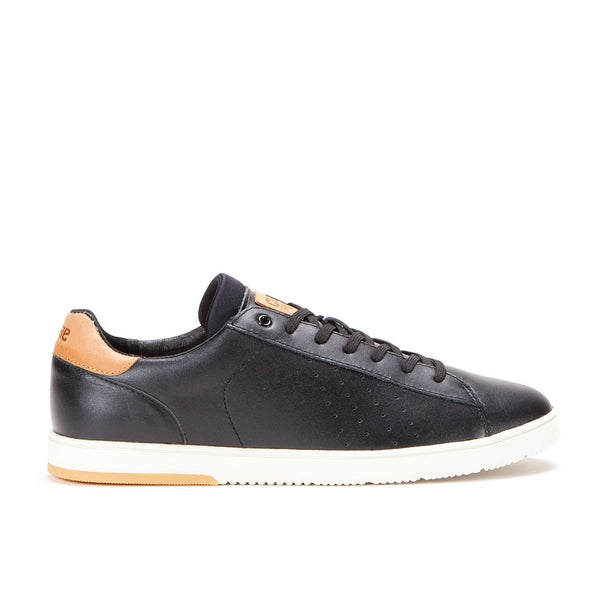 CLAE ARTHUR SHOES - BLACK LEATHER