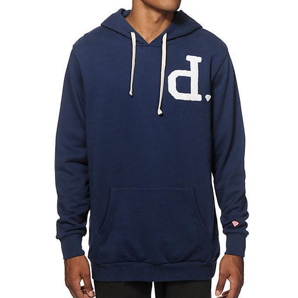DIAMOND SUPPLY CO UN-POLO HOODIE - NAVY