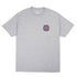 BUTTER GOODS KEYLINE WORLDWIDE LOGO T-SHIRT