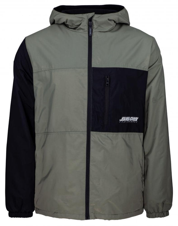 SANTA CRUZ SCS DIVIDE JACKET - SAGE/ BLACK