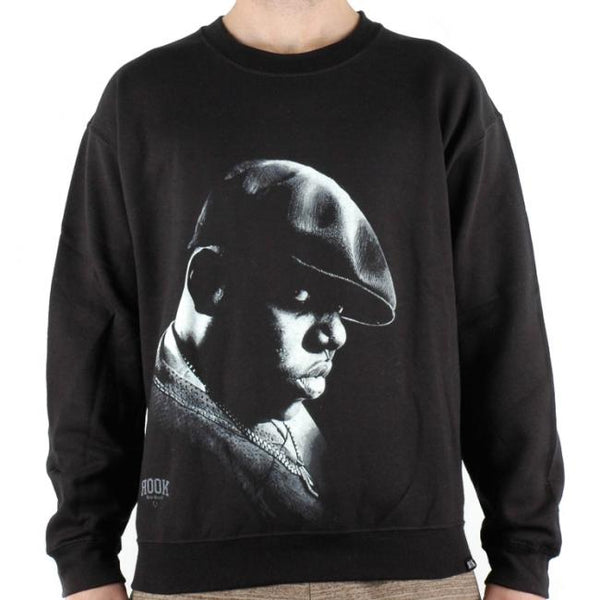 ROOK NOTORIOUS CREWNECK SWEATSHIRT - BLACK