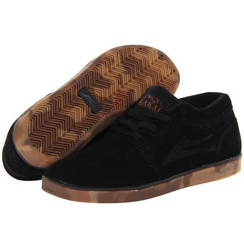 LAKAI HOWARD DESERT AW MS413 BOOTS - BLACK/GUM SUEDE