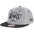 NEW ERA LOS ANGELES KINGS NYLON MESH SNAPBACK HAT - BLACK/WHITE