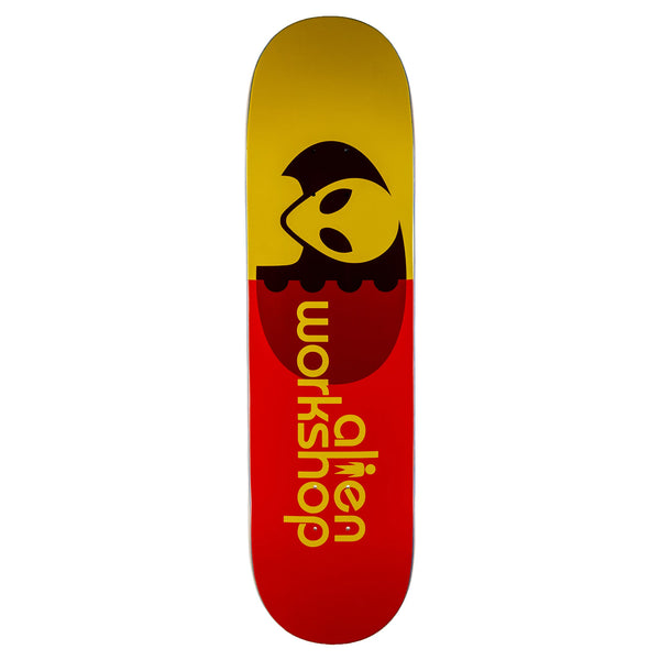 ALIEN WORKSHOP SKATEBOARD DECK EGG ORANGE - 8.375""