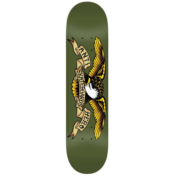 ANTI HERO CLASSIC EAGLE SKATEBOARD DECK GREEN - 8.38""
