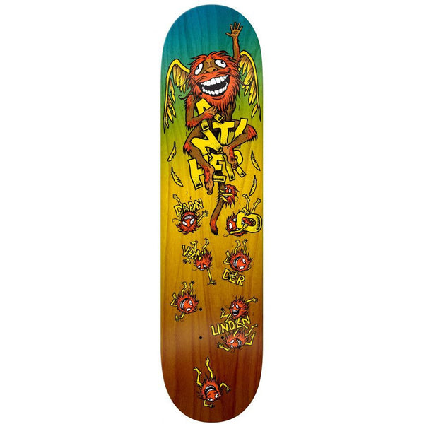 ANTI HERO DAAN GRIMPLECHIMP SKATEBOARD DECK - 8.38""