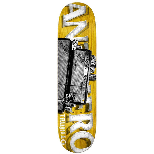 ANTI HERO TRUJILLO TURNED UP SKATEBOARD DECK - 8.12""