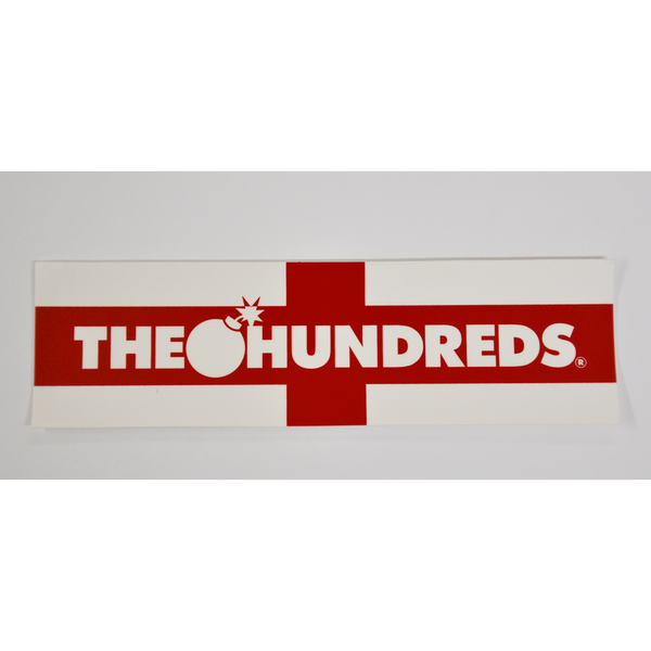 THE HUNDREDS FLAG STICKER