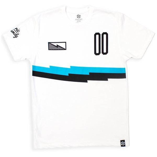 ELECTRIC FAMILY 00 JERSEY T-SHIRT - WHITE