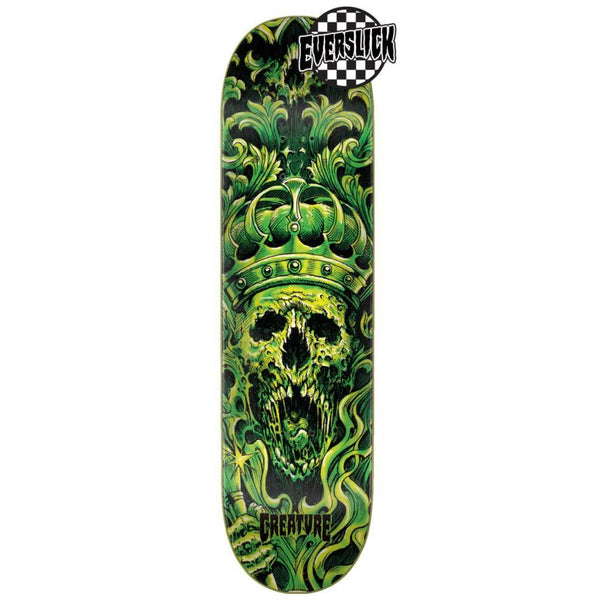 CREATURE EVERSLICK ACENDANT SM SKATEBOARD DECK GREEN - 8""