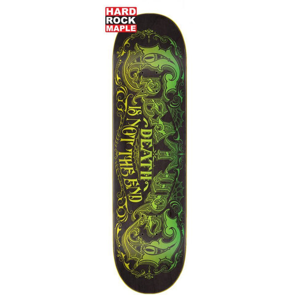 CREATURE NOT THE END HRM SKATEBOARD DECK BLACK & GREEN - 8.375""