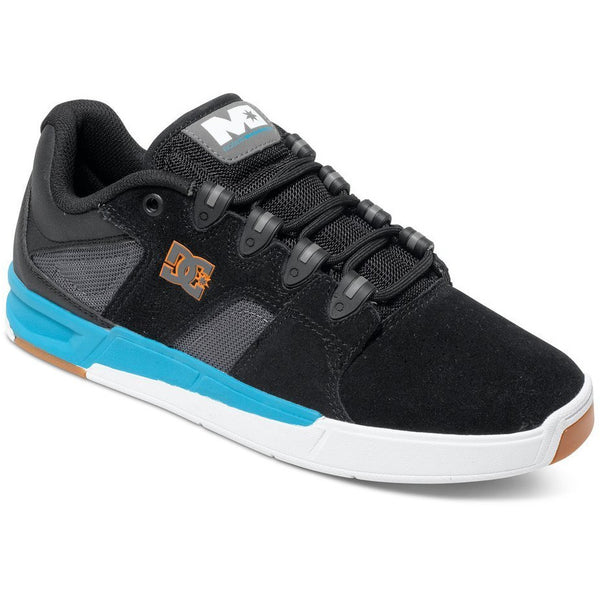 DC MADDO M SKATE SHOES -  BLACK TURQUOISE