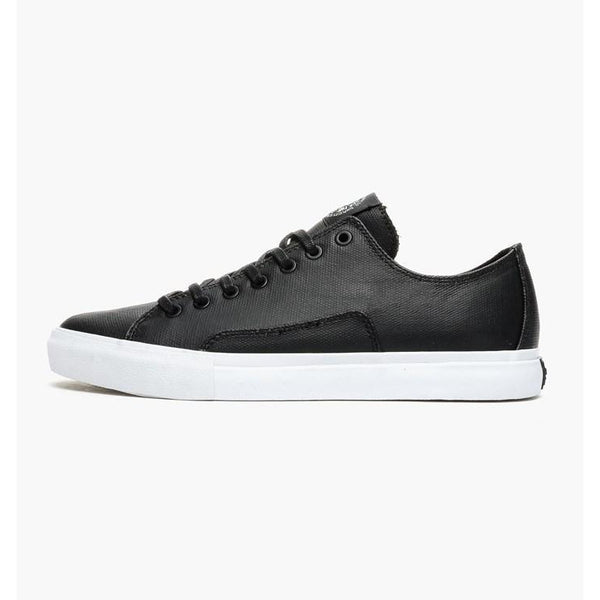 DIAMOND BRILLIANT LOW SIMPLICITY SKATE SHOES - BLACK