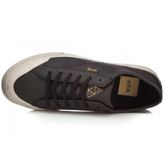HUF CLASSIC LO SKATE SHOES - BLACK ELEPHANT