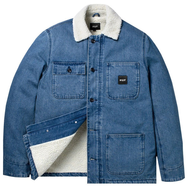 HUF TORRANCE JACKET - DENIM