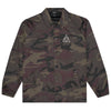 HUF TRIPLE TRIANGLE COACHES JACKET - WOODLAND