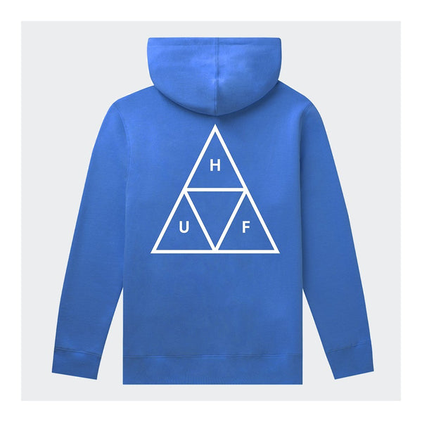 HUF TRIPLE TRIANGLE PULLOVER HOODIE - BLUE
