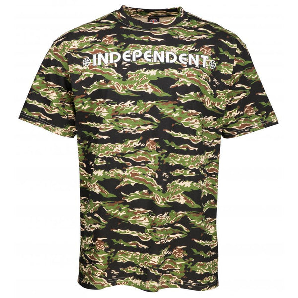 INDEPENDENT BAR CROSS T-SHIRT - CAMO