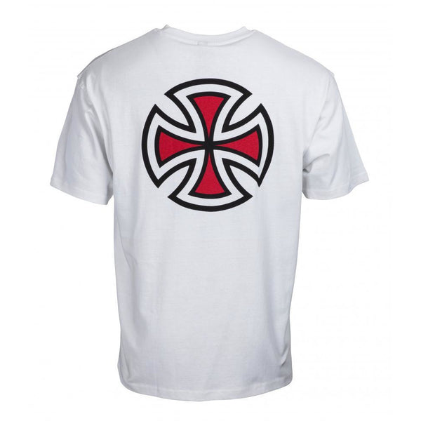 INDEPENDENT BAR CROSS T-SHIRT - WHITE