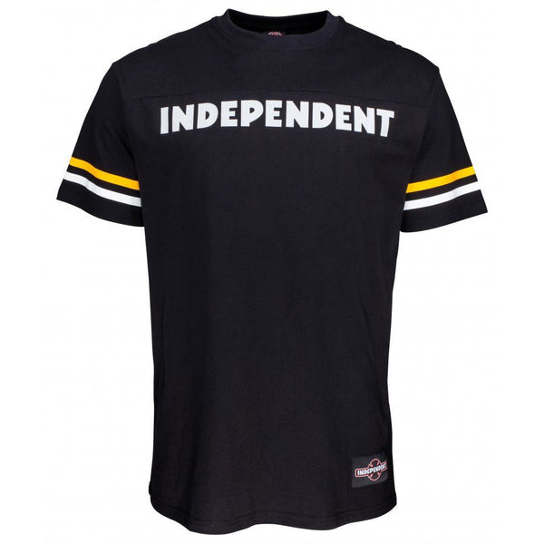 INDEPENDENT CUSTOM TOP BENCH T-SHIRT - BLACK